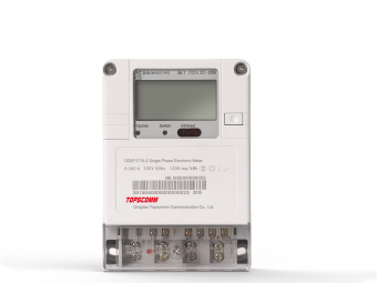 Single Phase PLC Electronic Energy Meters