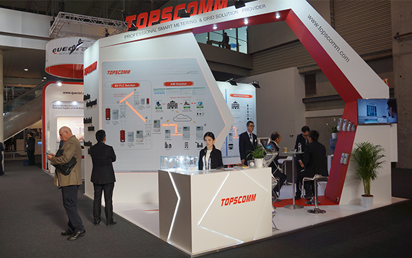 Topscomm: A Fruitful Show in Europe Utility Week, Barcelona